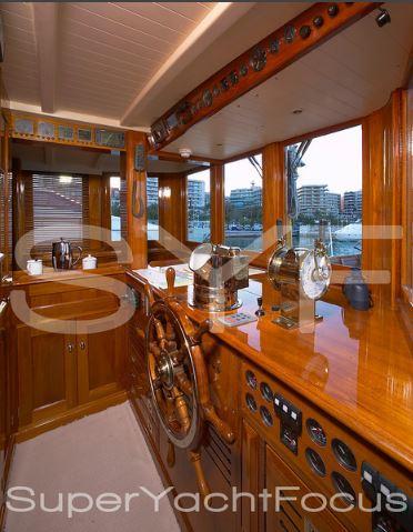 Projet construction : yacht de 1907 Ilona of Kylesku 510