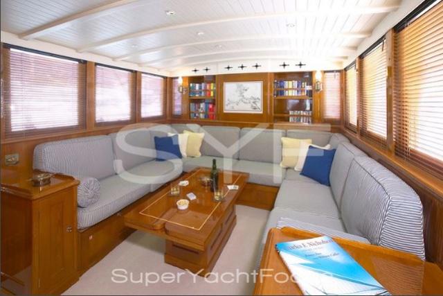 Projet construction : yacht de 1907 Ilona of Kylesku 610