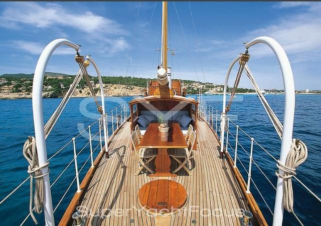 Projet construction : yacht de 1907 Ilona of Kylesku 710