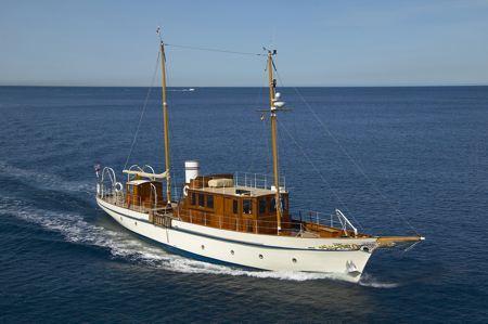 Projet construction : yacht de 1907 Ilona of Kylesku Esvz9510