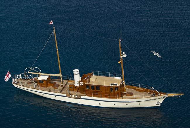 Projet construction : yacht de 1907 Ilona of Kylesku Ilona10