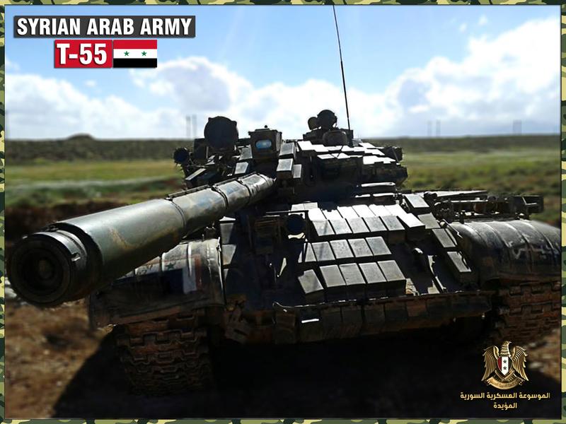 الموسوعة الأكبر لصور الجيش العربي السوري (جزء 2 ) - صفحة 37 T-55_n10