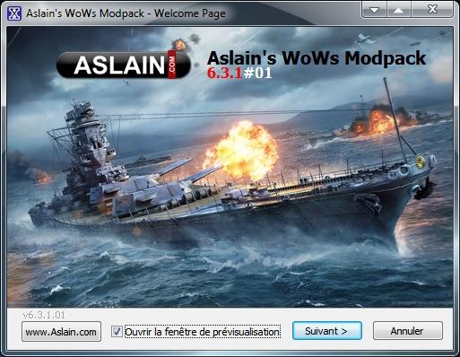 Mod WoWS Aslain Forum110