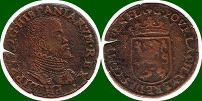 Jeton  de FELIPE II 1572 1572_f10