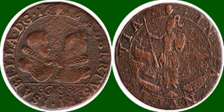 1616 Jetón de los Archiduques Alberto e Isabel. 1616_a10