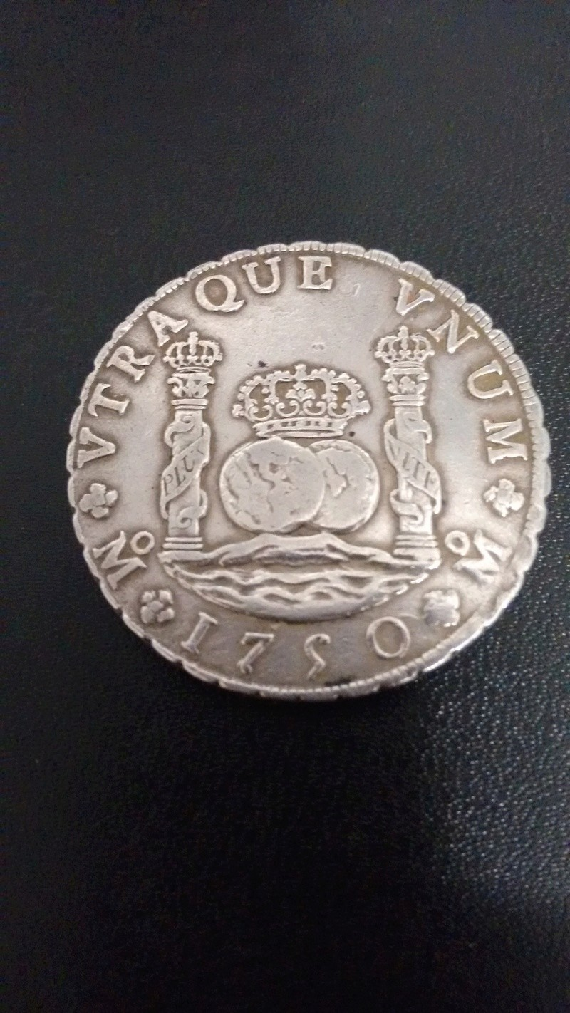 8 Reales Columnario - Fernando VI - 1750 - Méjico Img_2015