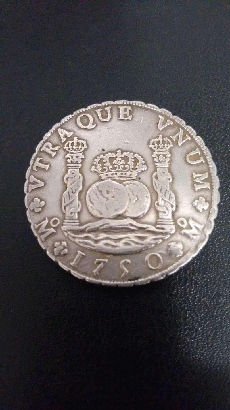 8 Reales Columnario - Fernando VI - 1750 - Méjico Img_2016