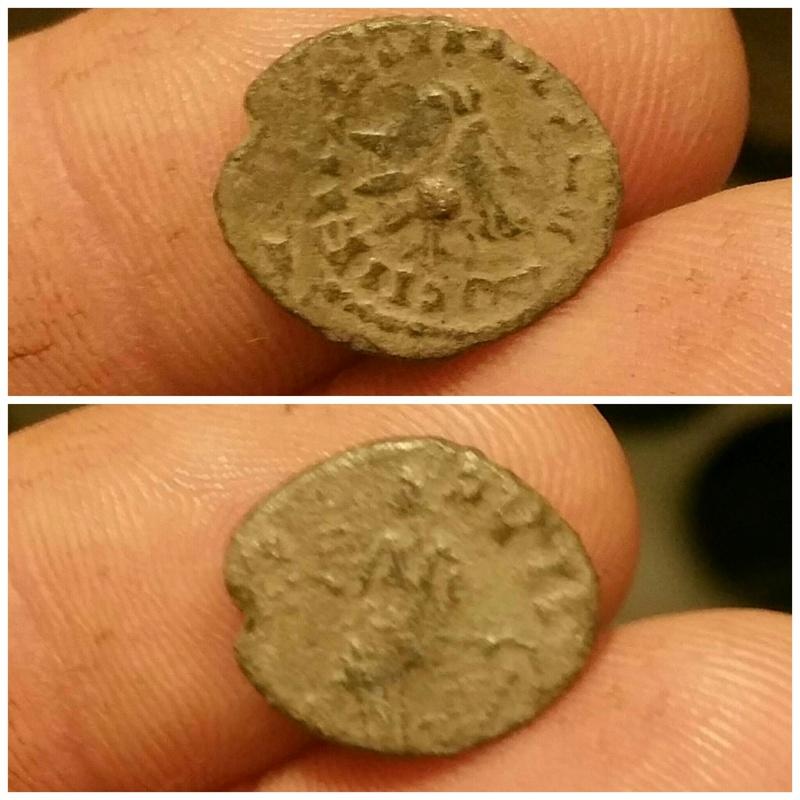 Antoniniano de imitación bárbara de Tétrico. Picsar13