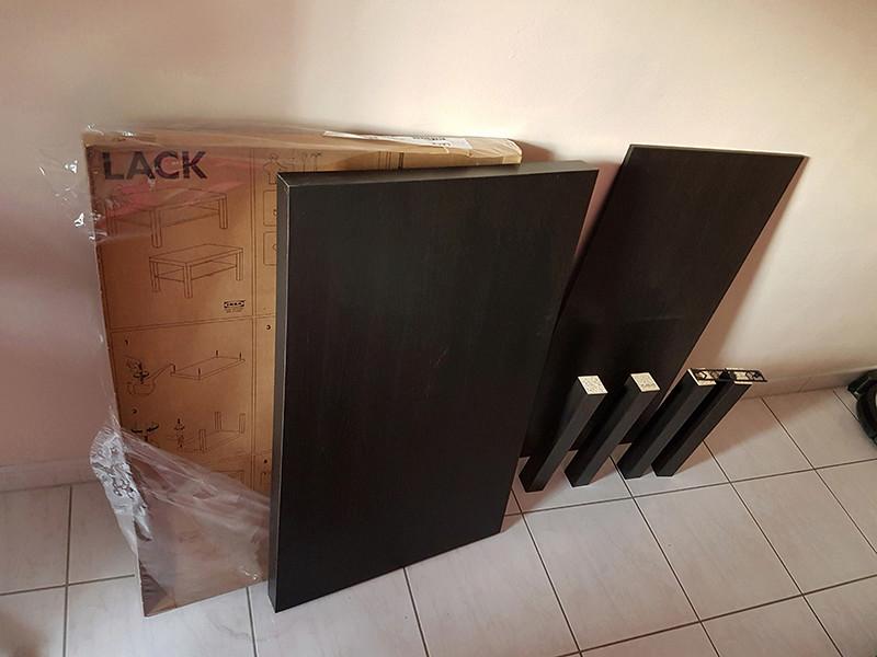 [WIP] La table de salon - Pincab 20170410