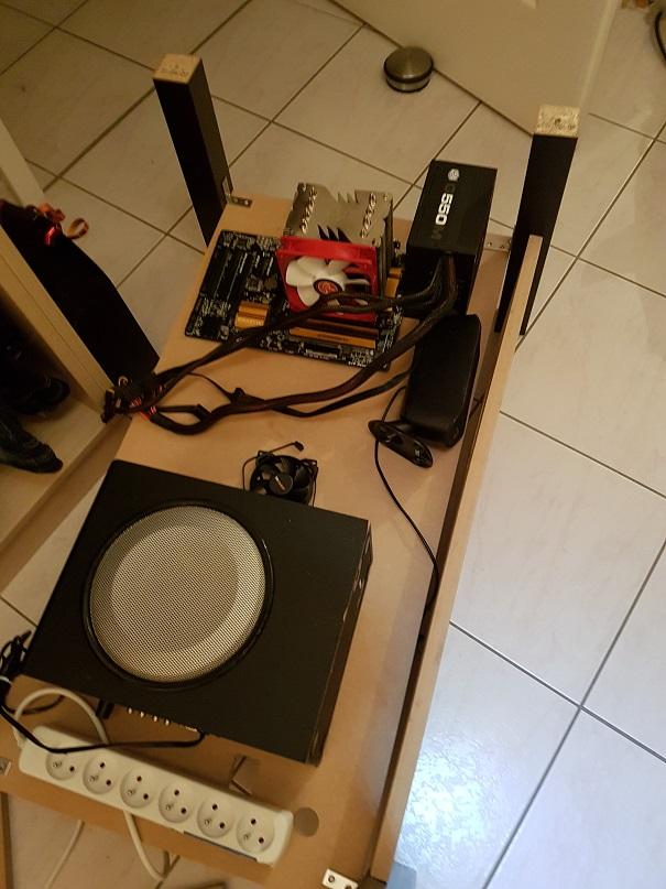 [WIP] La table de salon - Pincab 20170515