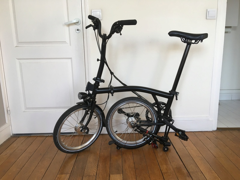Brompton M6L Black Edition 2017 Hub Son - 1500€ Img_1411