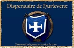 Une missive enroulée d'un ruban bleu aux couleurs de Hurlevent Logo_p13