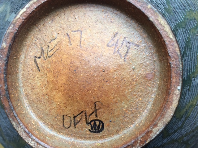 Studio Pottery Bowl - c. 1990, who made it? Image14