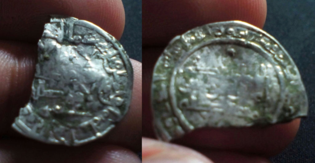 Dirham Alhaquem II del año 358 H. Ceca de Medina Azahara. Moneda10