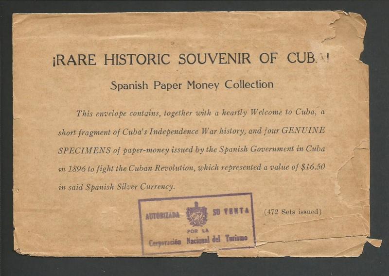 Curiosidad - Souvenir para los turistas que visitaban cuba en el 38 Imagen10