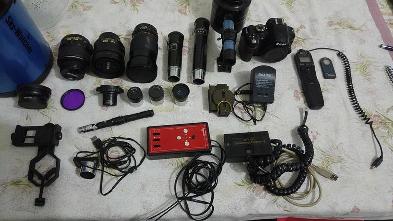 SkyWatcher 150mm F5 + EQ5 Motorizada + Nikon D3200 e Acessorios 17523210