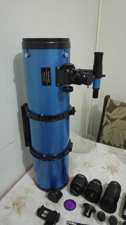 SkyWatcher 150mm F5 + EQ5 Motorizada + Nikon D3200 e Acessorios 17799210