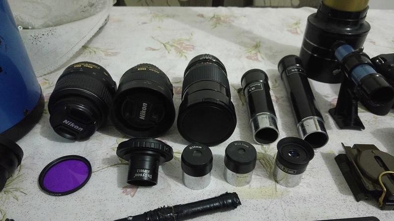 SkyWatcher 150mm F5 + EQ5 Motorizada + Nikon D3200 e Acessorios 17862710