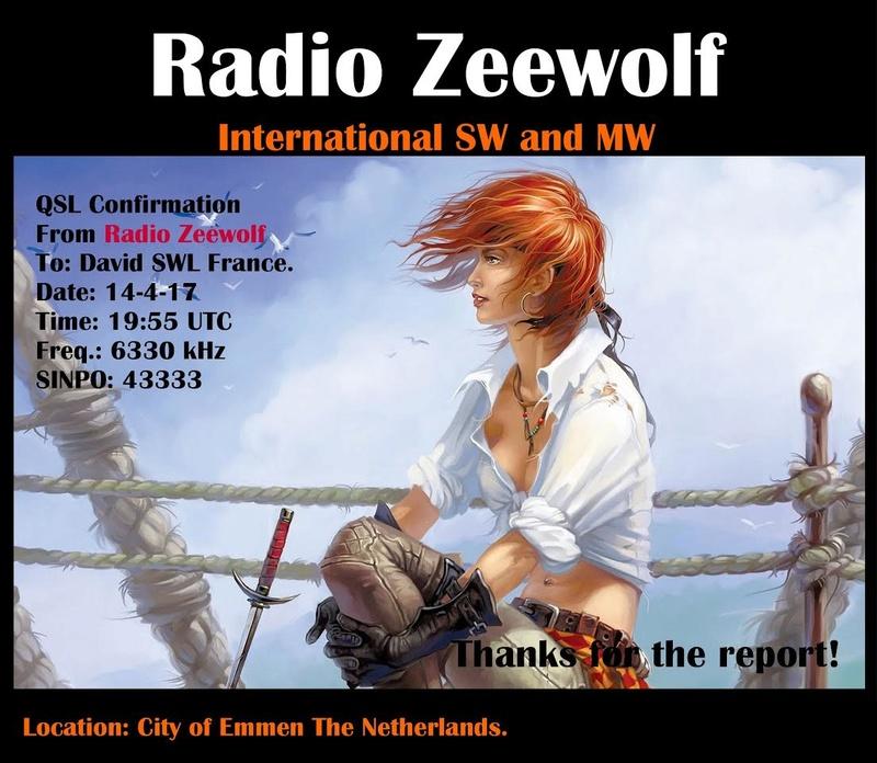 eQSL Radio Zeewolf / Blackstone. 14-04-10