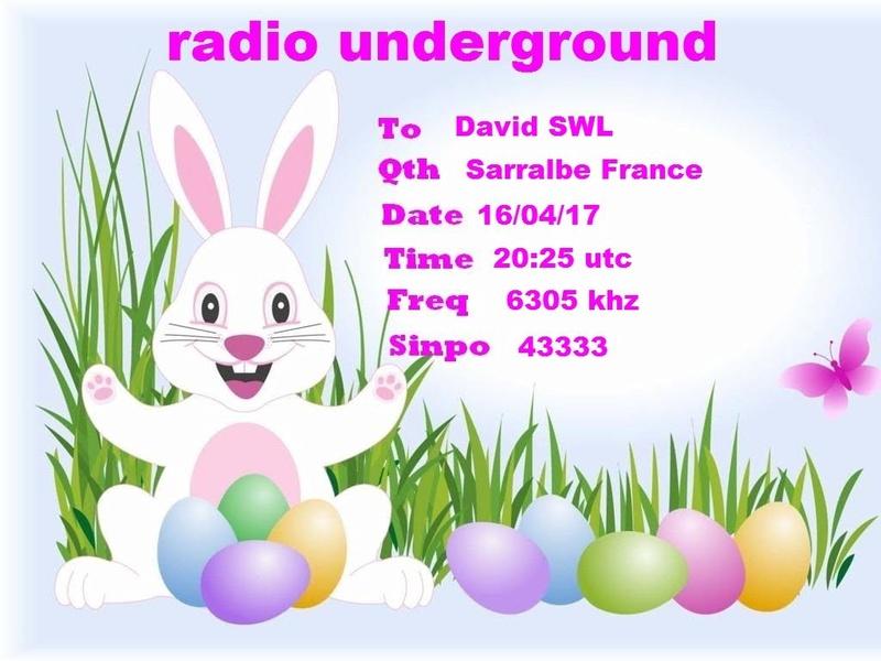 Radio Underground 16-04-10
