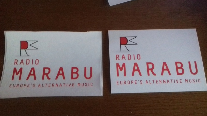 Courrier de radio MARABU 20170414