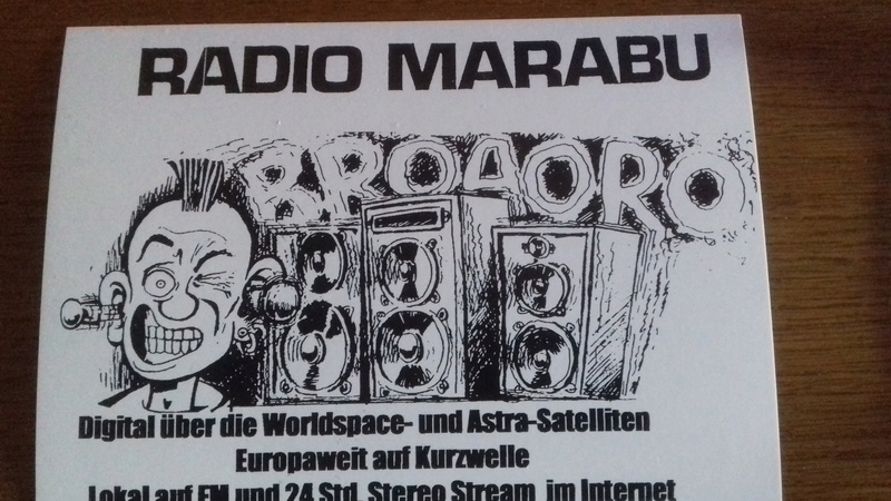 Courrier de radio MARABU 20170415