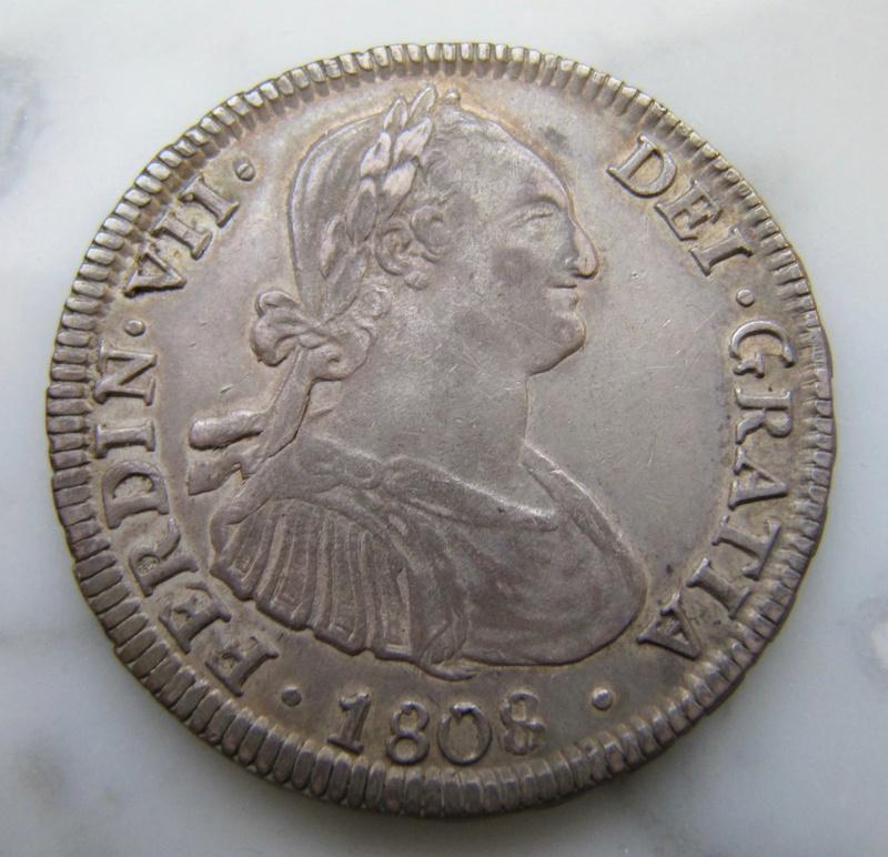 4 reales 1813. Fernando VII. Santiago de Chile Santia13