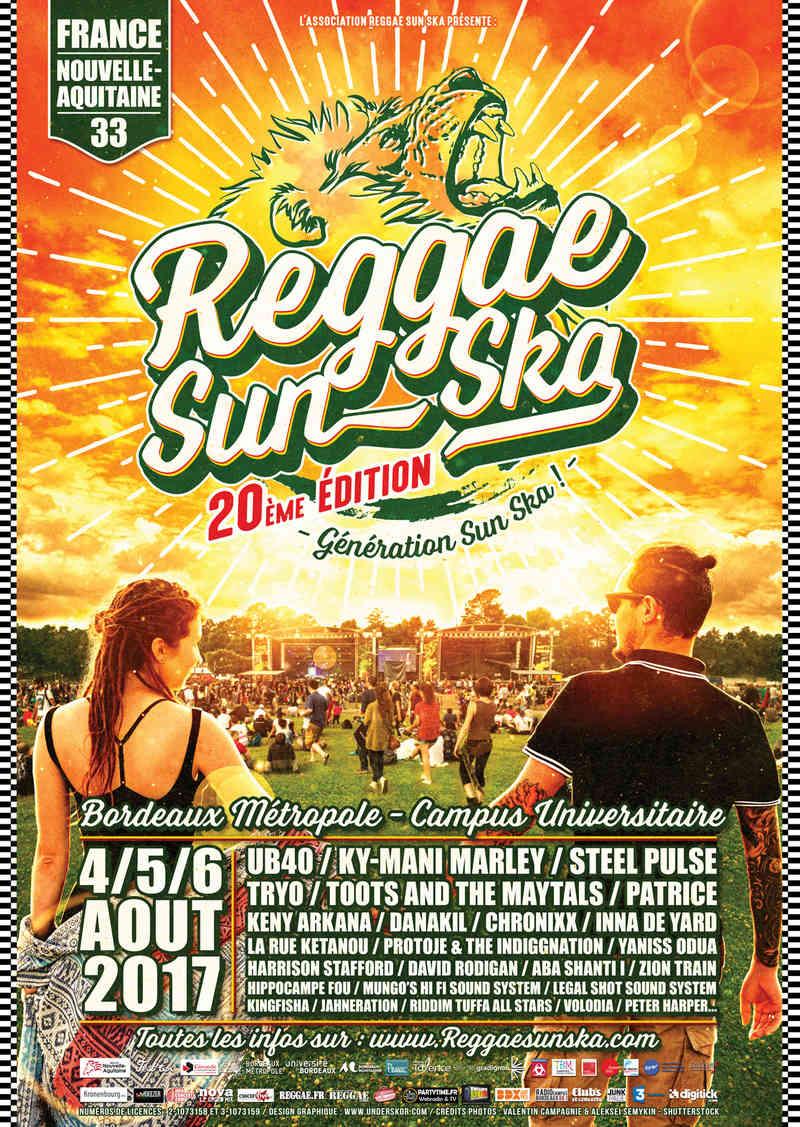 Reggae Sun Ska 2017 Affich10