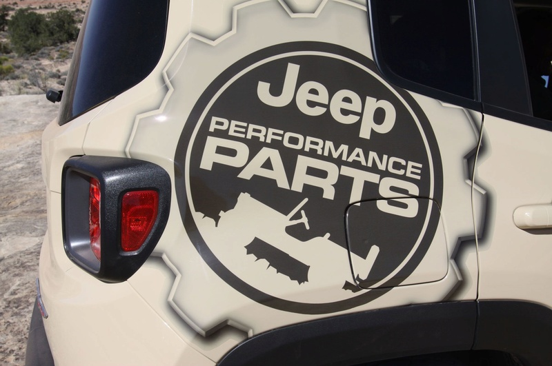adesivo JEEP PERFORMANCE PARTS 038-2010