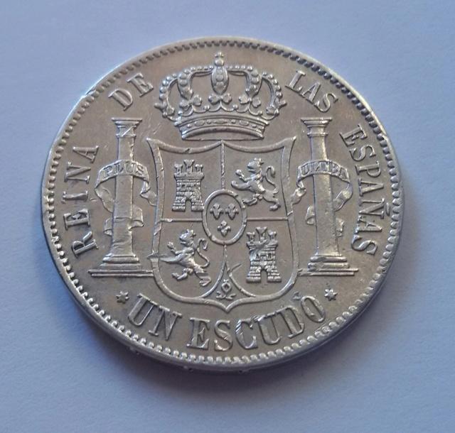 1 escudo 1866 Isabel II Madrid. 1_escu11
