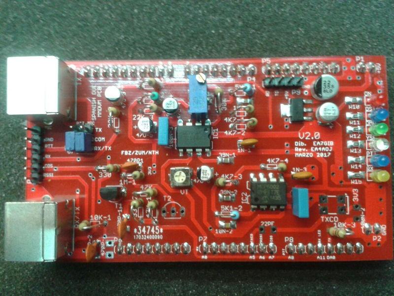 Placas NTH es sus distintas versiones para trabajo en digital multimodo - DMR - D-Star - C4FM - P25 Spanis14