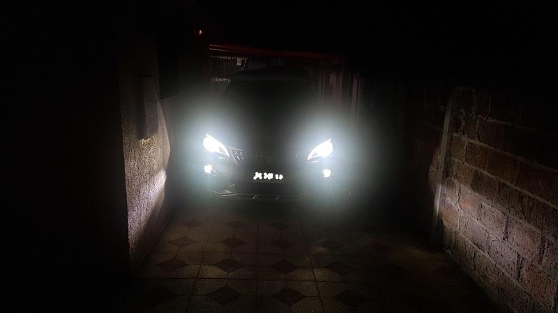cambiando las luces halógenas por led Inked211