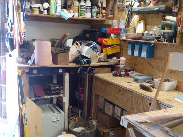 L'atelier actuel et un peu plus P1060910