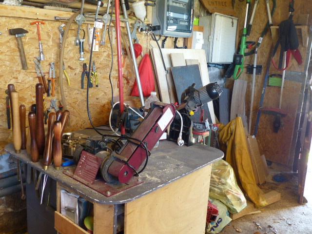 L'atelier actuel et un peu plus P1060911
