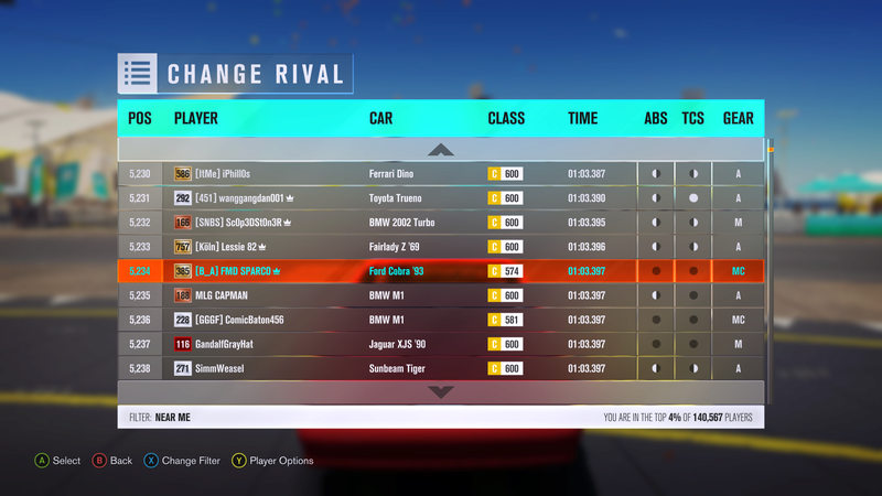 FH3 Stock Car Challenge of the Week #2 Eee53711