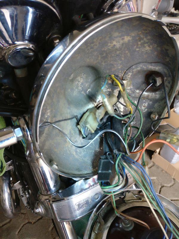 Instandsetzung und Neuaufbau CX500C - Seite 3 Lampe012