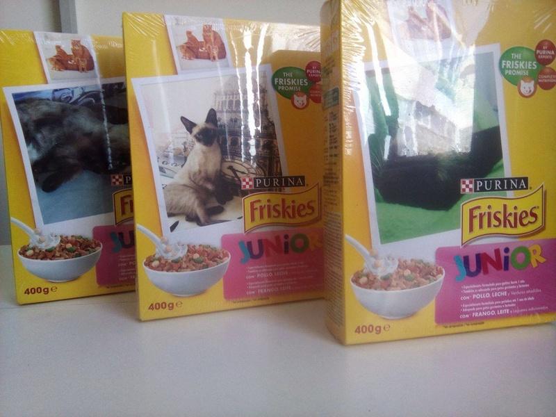 Amostras Nestlé - Embalagens Friskies Personalizadas Fri10