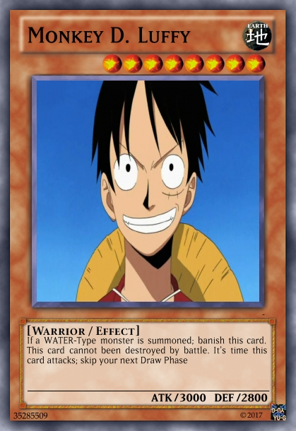 One Piece Deck                               Luffy10