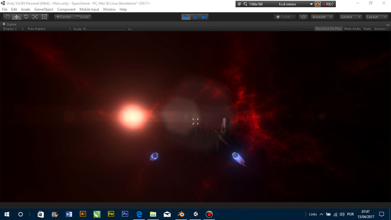 Cenários Espaciais vs Escala 310