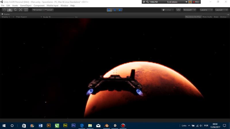 Cenários Espaciais vs Escala 510