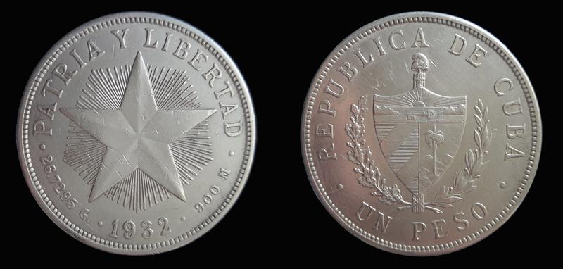 CUBA 1 PESO 1.932 1932a_10