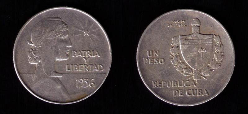 CUBA 1 PESO 1.935 ABC 1936_110