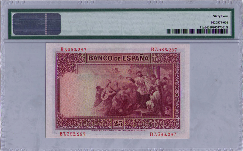 25 PESETAS 1926 PAREJA Espayi12