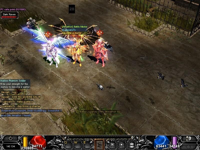 Arrancamos con todo EL mu Armathor !!!  Screen29