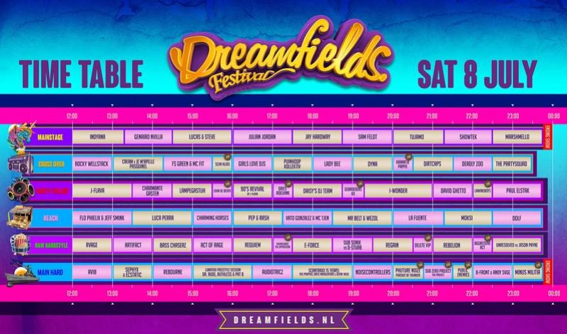 DREAMFIELDS FESTIVAL - samedi 8 Juillet 2017 - Recreatieterrein Rhederlaag, Lathum - NL Dreamf10
