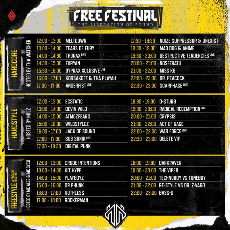 Free Festival - 01 Juillet 2017 - Almere Strand - NL Free_f10