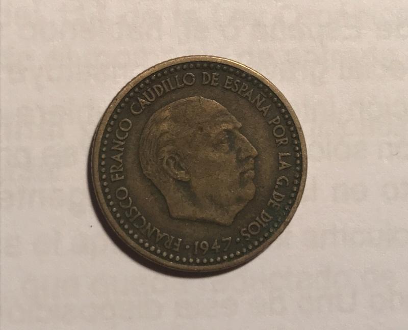 1 peseta 1947 (*19-48). Estado Español Fullsi23