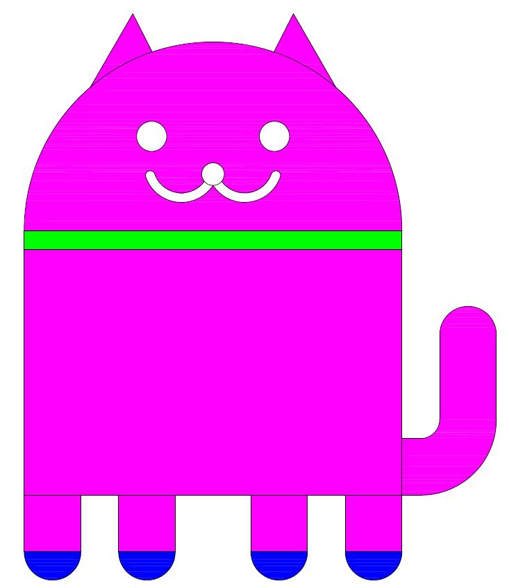[練習]google電子喵-2D範例 12312
