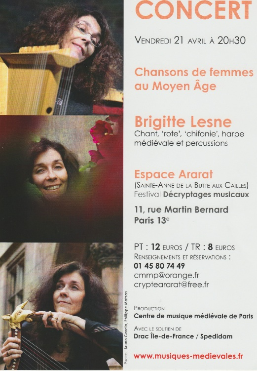 Brigitte Lesne en solo Concer10