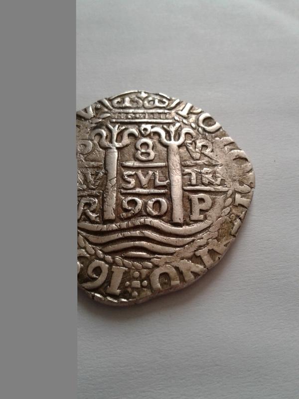 8  reales 1652, Potosi 20170410
